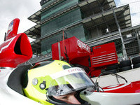 IRL: Junqueira earns pole for 86th Indianapolis 500