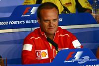 Barrichello, Ferrari dominate British GP practice