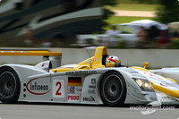 Lap of D.C. track with Kristensen