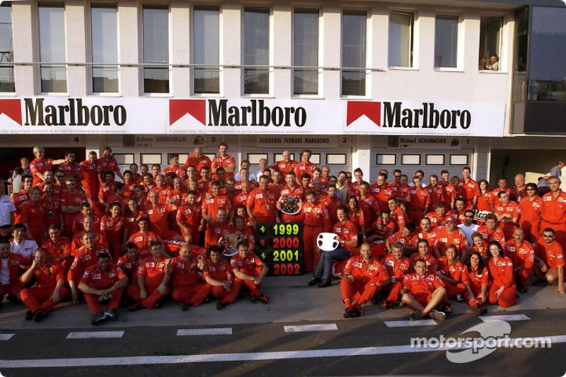 Schumacher thanks everyone