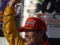 CHAMPCAR/CART: Vasser ends dry spell at Fontana
