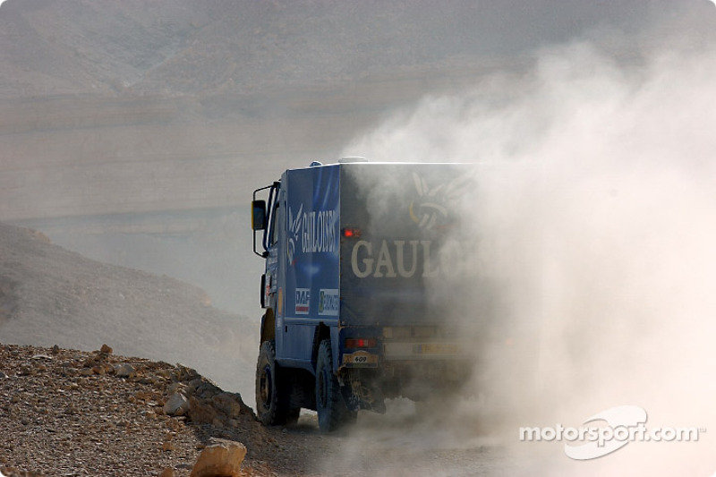 Dakar: Gauloises Racing stage 14 report