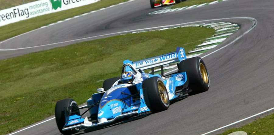 CHAMPCAR/CART: Carpentier tops the Brands Hatch warmup charts