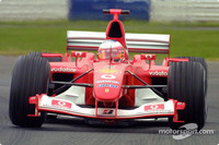Barrichello claims pole for British GP