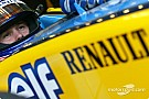 Race preparations with Renault