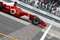 Barrichello ahead after US GP Saturday practices