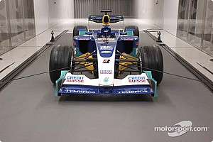 Sauber presents new wind tunnel