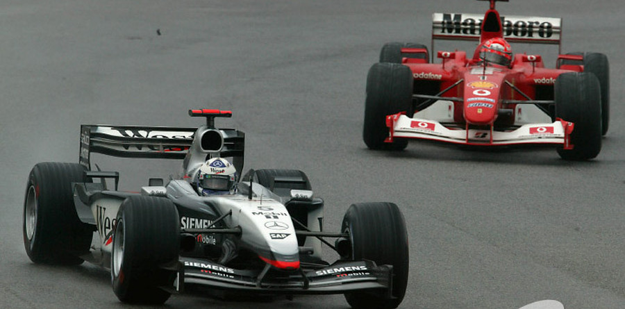 Schumacher not writing off Coulthard
