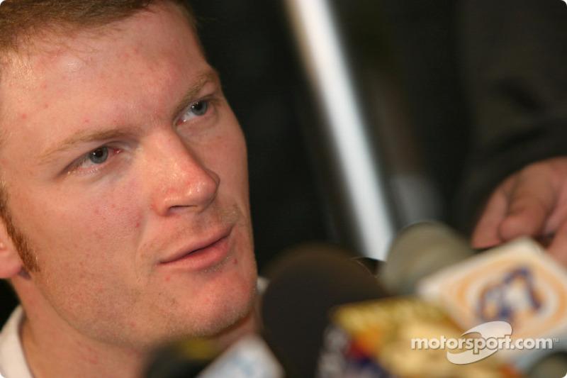 Daytona 500: GM Media Day - Earnhardt Jr.