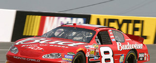 Earnhardt fastest in Charlotte Happy Hour