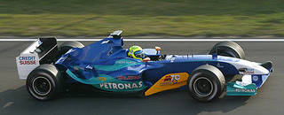 Massa back at the top of test times