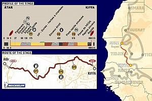 Dakar: Stage 11 Atar to Kiffa notes