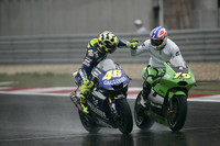 Rossi wins torrential Chinese GP