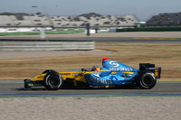 Valencia test comes to a close