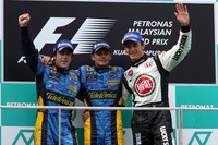 Fisichella leads Renault one-two in Malaysian GP