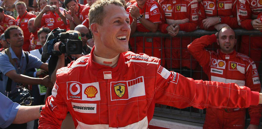 Schumacher focused on the title