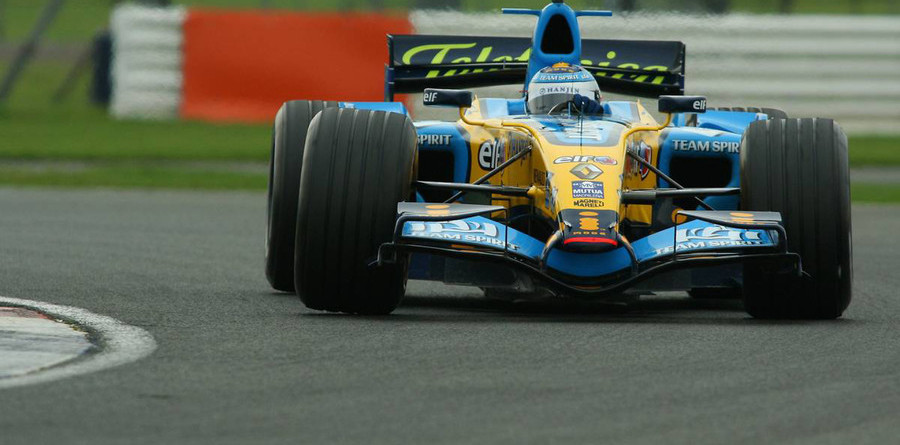 Piquet fastest at Silverstone test