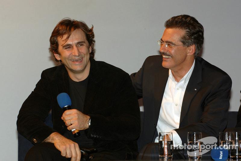 Zanardi to test BMW Sauber