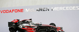 Formula 1 McLaren presents the MP4-22 in Valencia