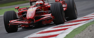 Ferrari leads in Italian GP first practice