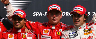 Untouchable Raikkonen wins Belgian GP