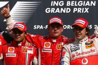 Untouchable Raikkonen wins Belgian GP