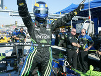 Brabham scores overall pole at Laguna Seca