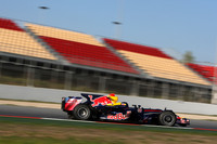 Red Bull's Vettel again tops Barcelona test