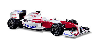Formula 1 Toyota takes online step to launch TF109 challenger