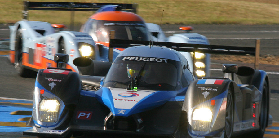 Wurz leads Le Mans 24H morning warmup