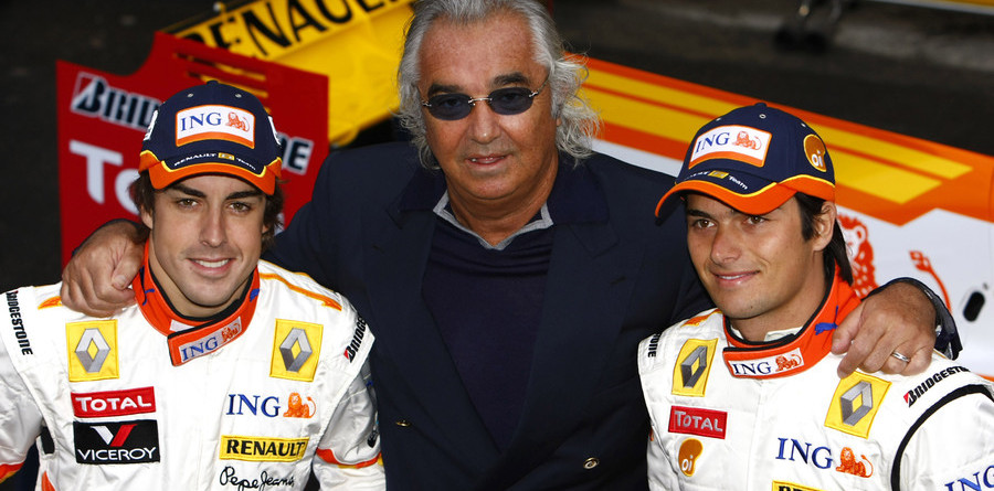 Appeal winner: Briatore says