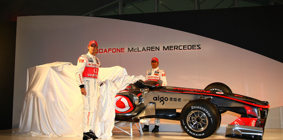 McLaren Mercedes debuts the 2010 MP4-25