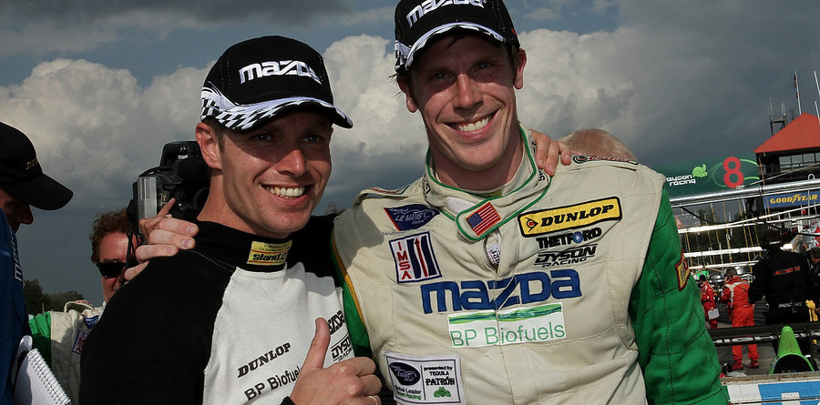 Dyson hangs on for hard-fought Mid-Ohio win