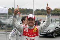 Scheider splashes to Hockenheim pole position
