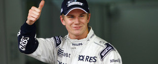 Hulkenberg is surprise pole winner in Brazil
