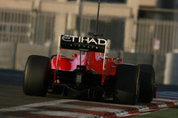Alonso ended fastest in Pirelli Abu Dhabi test