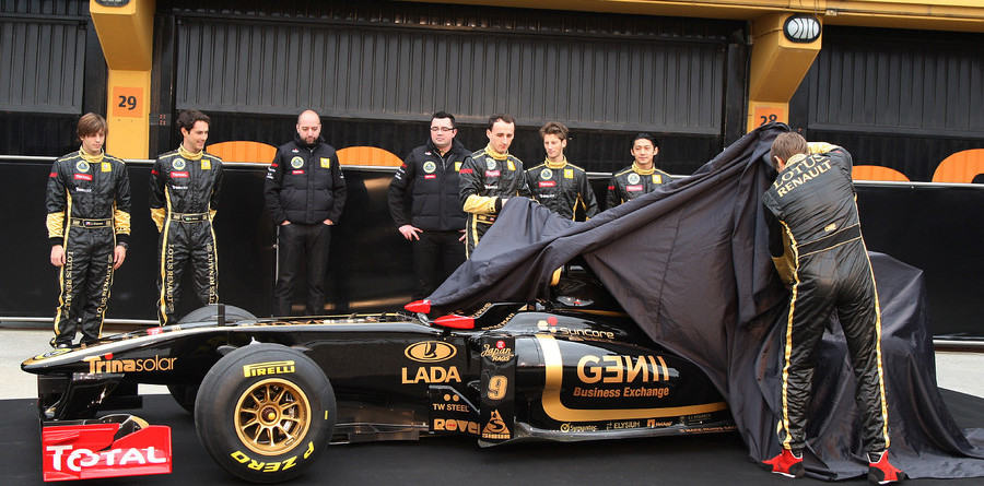 Lotus Renault unleash new 2011 contender at Valencia