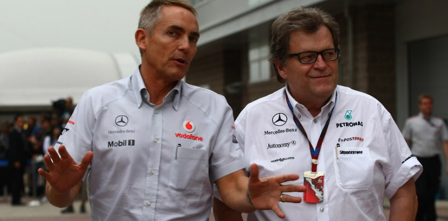 McLaren not ruling out own engine for F1 - Whitmarsh
