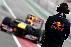 Red Bull Barcelona test report 2008-03-08