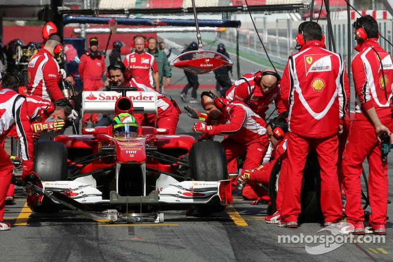 Ferrari Barcelona test report 2011-03-09