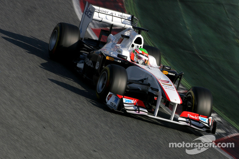 Sauber Barcelona test report 2011-03-10