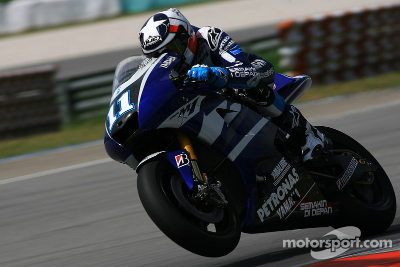 Yamaha Qatar test, day 1 report