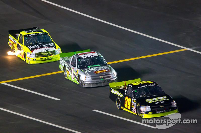 Jeffrey Earnhardt race report