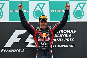 Vettel eyes Schumacher's consecutive wins record