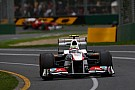 Shipping new car for Perez cost Sauber EUR 30,000