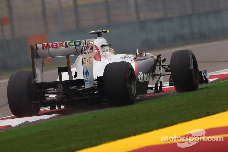 Sauber Race Report