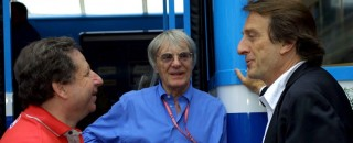 Ecclestone says no takeover talks with Ferrari