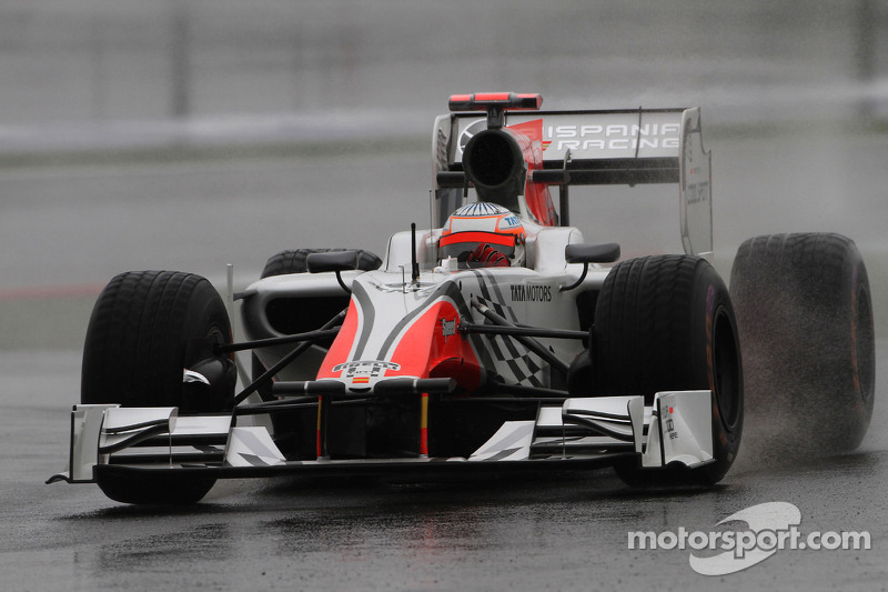 Turkish GP HRT Friday Practice Report