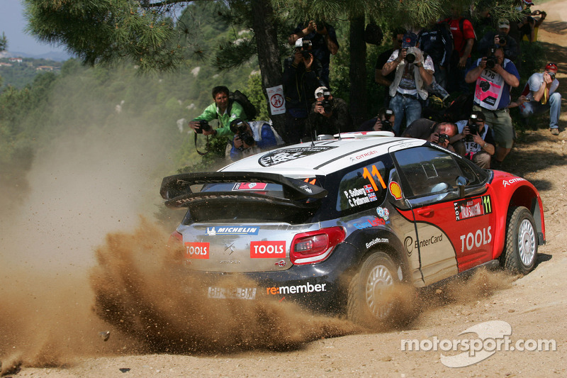 Petter Solberg Rally Italia Sardegna Leg 2 Summary