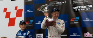 BF3 Magnussen earns the Feature race victory at Snetterton